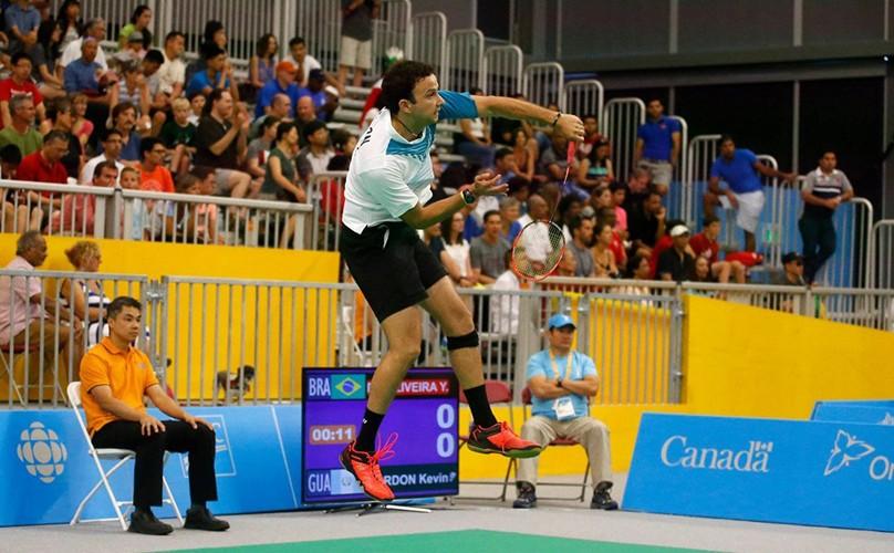 Kevin Cordón en competencia