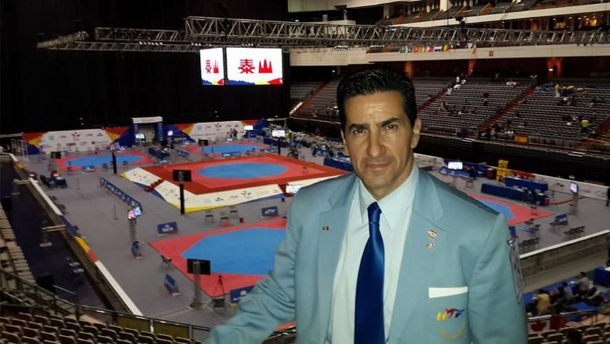 El medallista Marco Prado es el primer guatemalteco en el Salón de la Fama de Taekwondo. (Foto: Facebook Marco Prado)