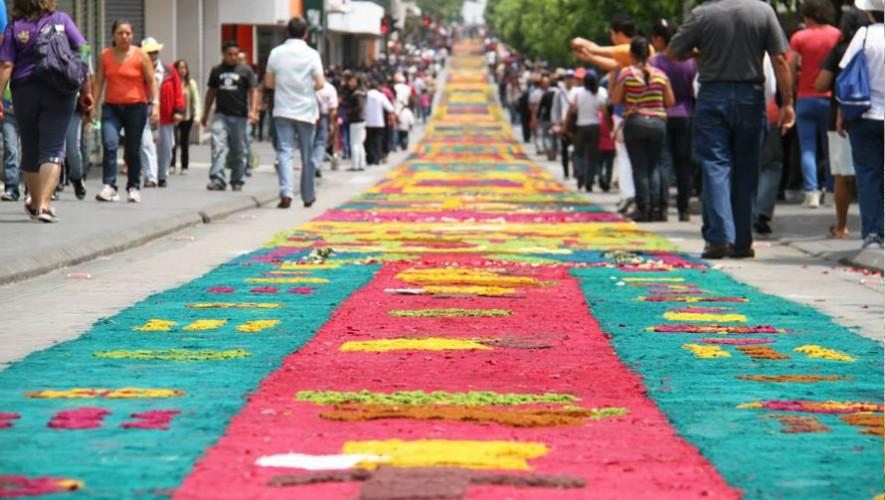 Los r cords guinness que ha roto guatemala for Alfombras el mundo