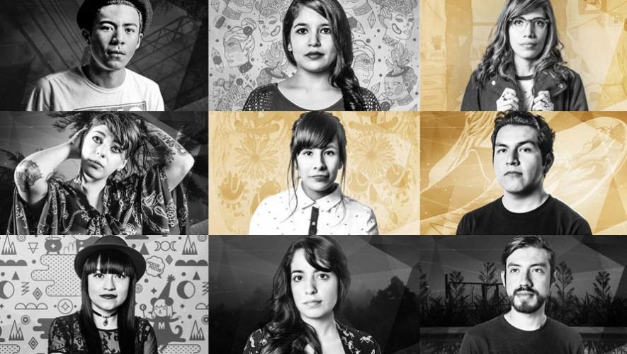 Algunos de los artistas que participan en Wander Project: Special Edition 2015. (Foto: Facebook Wanderlust Wear)