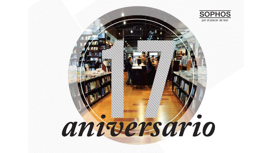 Celebración del 17 aniversario de librería Sophos | Diciembre 2015