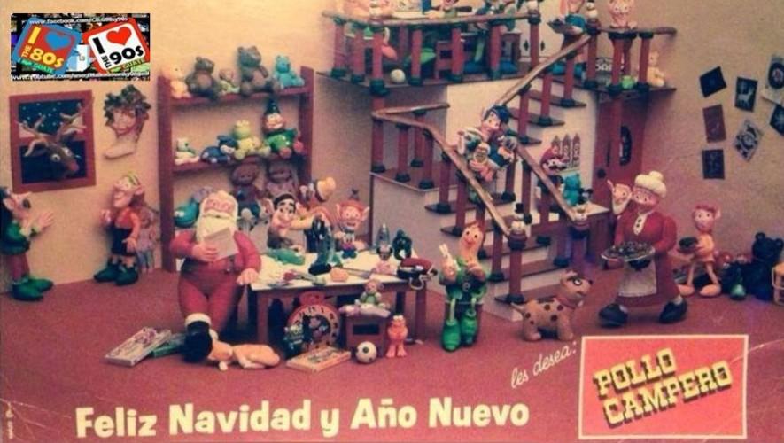 Recopilamos algunos anuncios navideños de años anteriores que seguramente recuerdan los guatemaltecos. (Foto: Facebook Canal I Love Guate 80s & 90s)