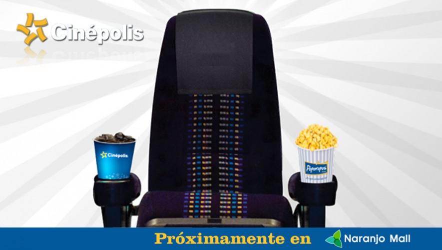 La sala de Cinépolis en Naranjo Mall se inaugura el 10 de diciembre. (Foto: Facebook Cinépolis Guatemala)