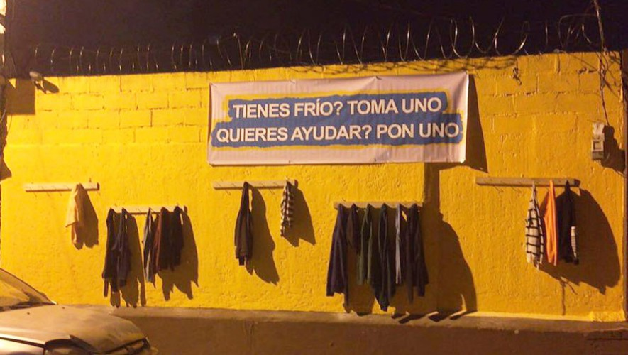 Así luce una pared en Cobán, en donde vecinos se unieron para crear esta iniciativa. (Foto: Marco Fion Pappa)