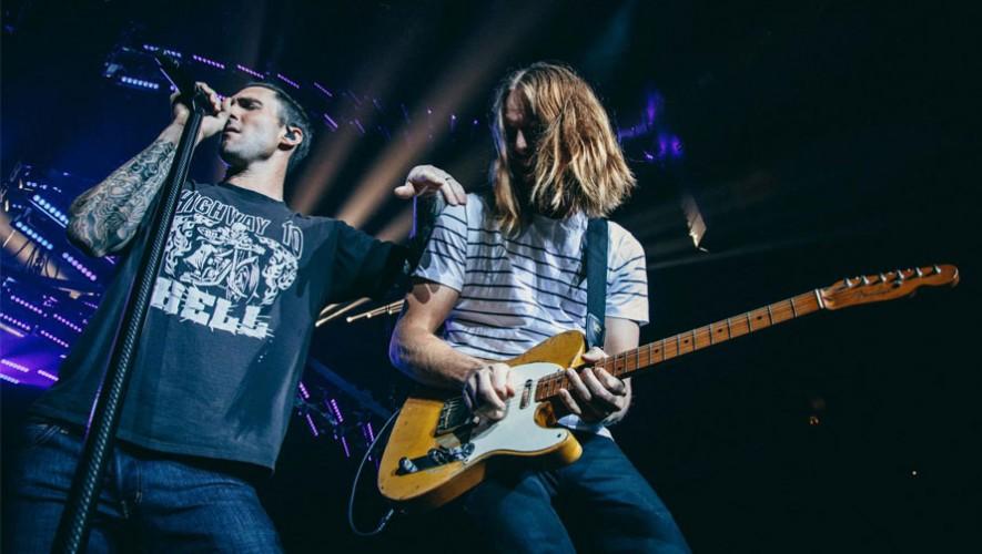 James Valentine, guitarrista de Maroon 5, se encuentra en Guatemala. (Foto: Facebook Maroon 5)