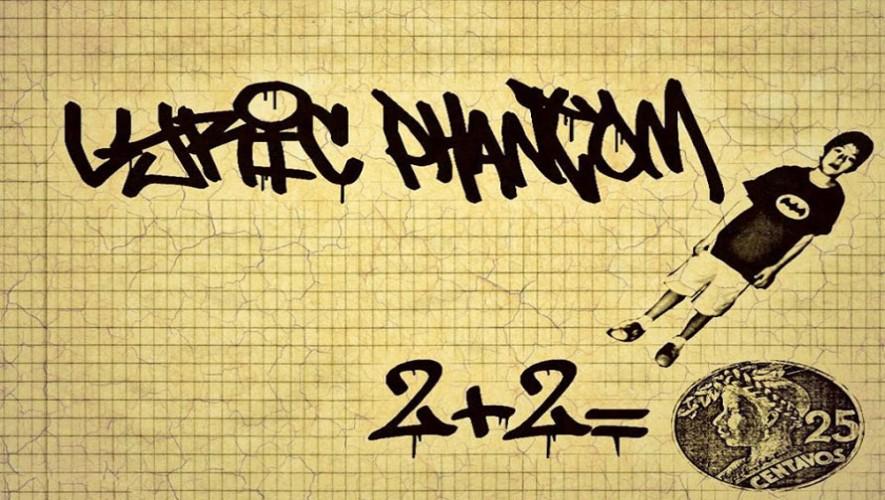 El guatemalteco Lyric Phantom presenta una nueva propuesta para el hip hop en Guatemala. (Foto: Facebook Lyric Phantom)
