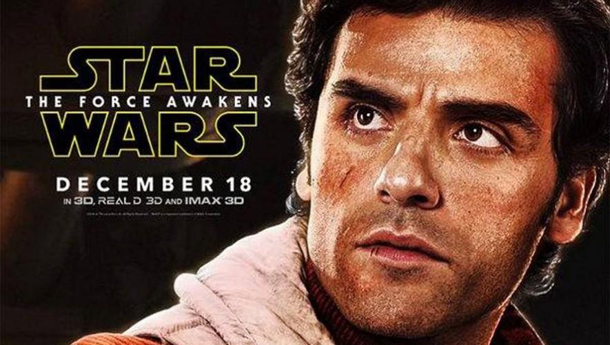La película de Star Wars: El Despertar de la Fuerza se estrena el 17 de diciembre en Guatemala. (Foto: Facebook Oscar Isaac)