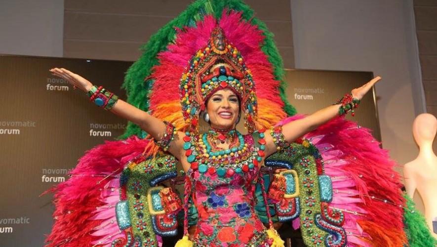 Sara Guerrero, Miss Earth Guatemala, obtuvo medalla de oro en la competencia Mejor Traje Nacional. (Foto: Facebook Sara Guerrero)