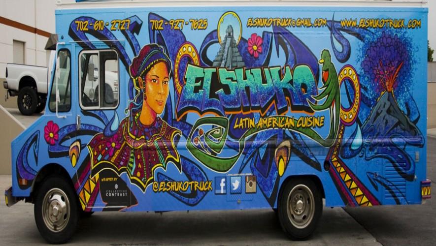 """""""El Shuko"""" es el único camión de comida guatemalteca en Estados Unidos. (Foto: Facebook El Shuko)"""