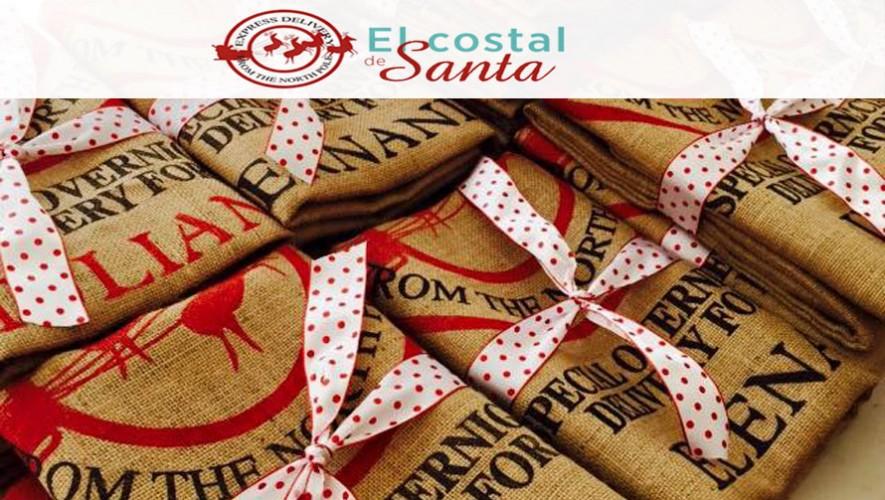 El Costal de Santa es un proyecto que permite empacar los regalos de manera diferente. (Foto: Facebook El Costal de Santa)