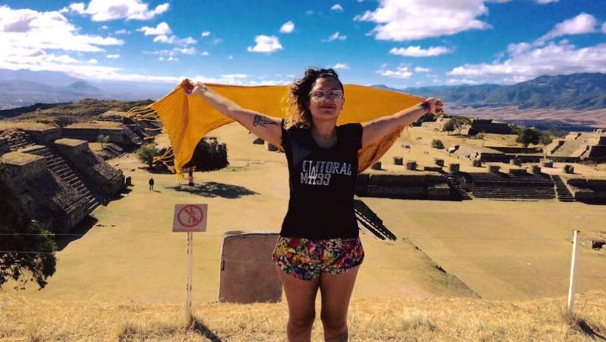 Rebeca Lane grabó algunas escenas de su nuevo videoclip en México. (Foto: Facebook Rebeca Lane)