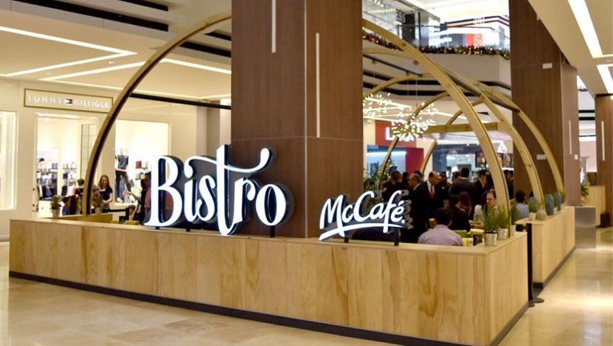Así luce el nuevo concepto de McCafé en Oakland Mall. (Foto: Cortesía McCafé)