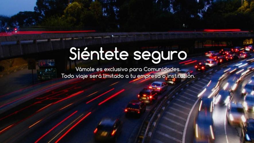 Asegurando cada viaje, Vámole únicamente conecta personas de empresas o universidades registradas. (Foto: Facebook Vámole)