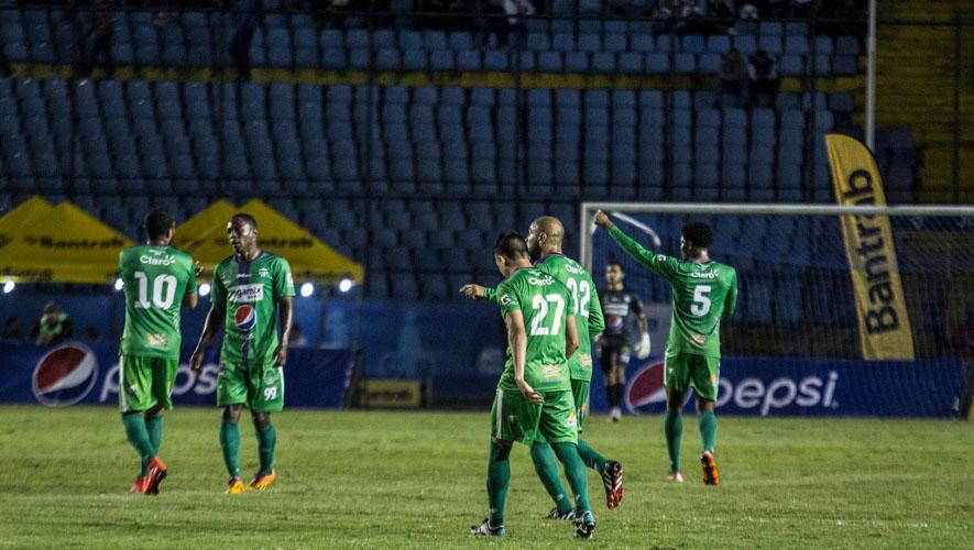 Partido de vuelta Antigua vs. Comunicaciones en semifinales del Torneo Apertura 2015