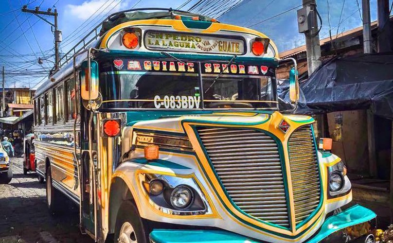 Camioneta Guatemala