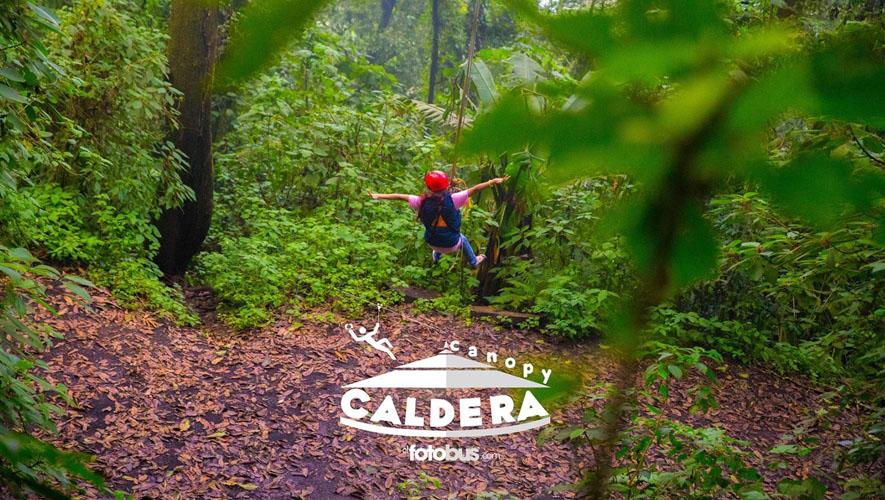 Canopy extremo en Parque Calderas | Diciembre 2015