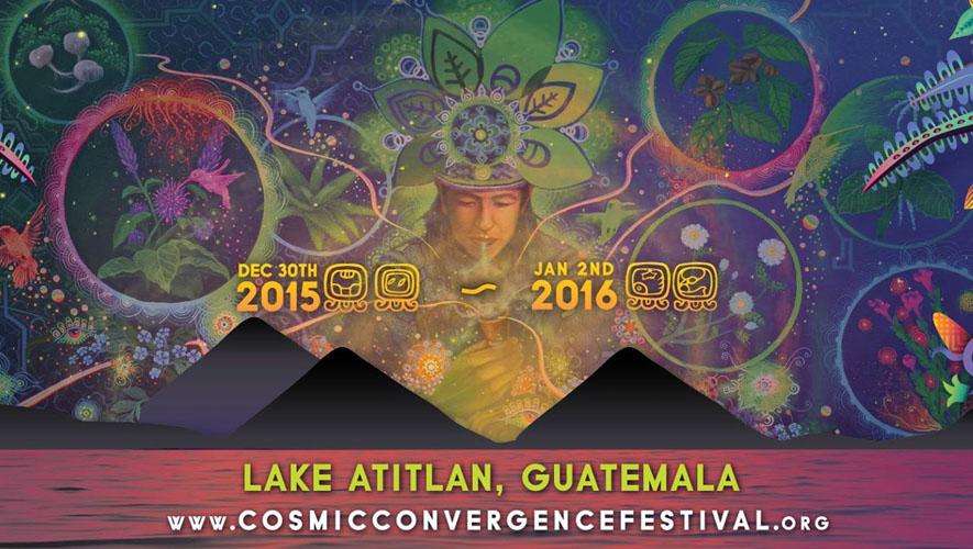 Festival Cosmic Convergence en Guatemala | Diciembre 2015