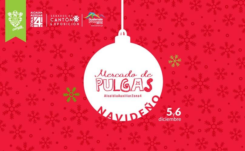 Mercado de pulgas navideño en zona 4 | Diciembre 2015