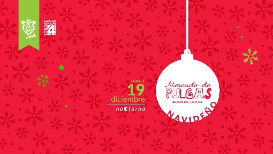 Segundo Mercado de Pulgas navideño en zona 4 | Diciembre 2015
