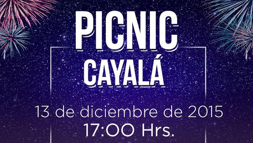 Picnic en Paseo Cayalá | Diciembre 2015