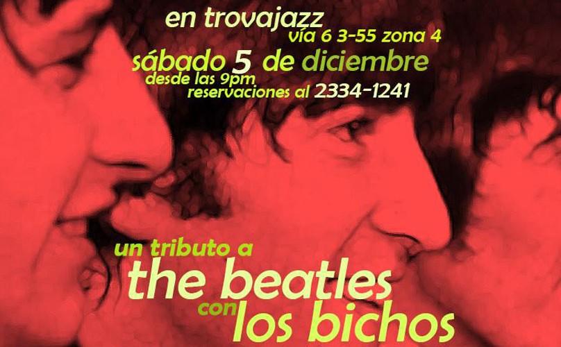 Beatles Tribute en Trovajazz | Diciembre 2015