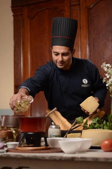 Chef Pablo Alvarado. (Foto: Facebook Tertulianos Restaurante & Museo)