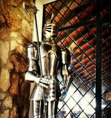 Caballero que representa a Don Nono, dueño original. (Fotografía: Restaurante De Montaña)