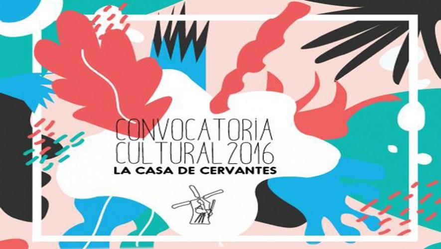 Forma parte de la agenda cultural de La Casa de Cervantes en el 2016. (Foto: Facebook La Casa de Cervantes)