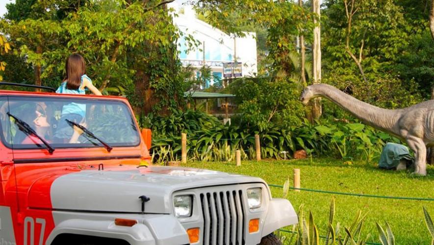 Dino Park es el primer centro de diversiones en Guatemala que cuenta con dinosaurios animatronics. (Foto: Facebook Dino Park)
