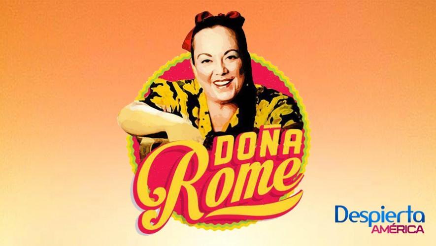 Celia Recinos cocinará en Despierta América el próximo viernes 29 de enero. (Foto: Facebook Doña Rome)