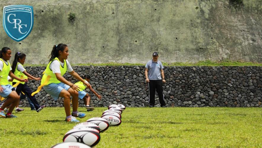 Únete al equipo de Rugby en Guatemala y forma parte de los Rinos. (Foto: Elmer Vargas)