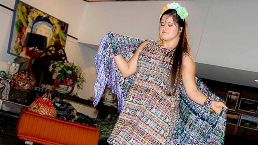 La guatemalteca Isabella Springmuhl Tejada es la primera invitada con síndrome de Down al Fashion Week de Londres. (Foto: Belita Springmuhl Tejada)