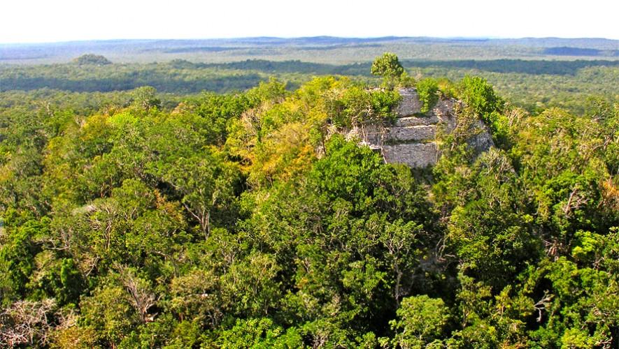 Escondida en la selva petenera, La Danta es también la pirámide más alta de América. (Foto: Dennis Jarvis)