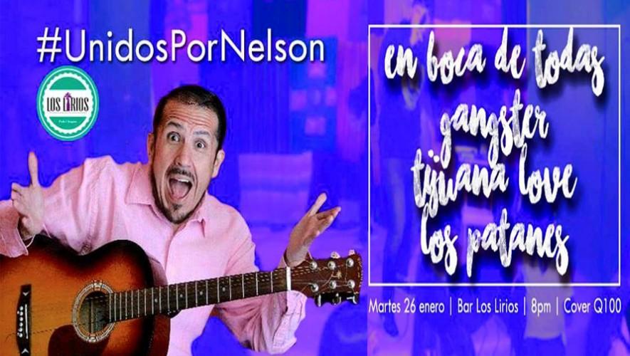Las agrupaciones guatemaltecas En Boca de Todas, Gangster, Tijuana Love y Los Patanes se unen para apoyar a Nelson Leal. (Foto: Unidos Por Nelson/Bar Los Lirios)