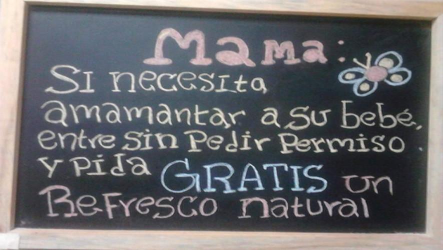 Algunos restaurantes y cafés de Guatemala se han unido a la propuesta. (Foto: El Rinconcito Bistro)