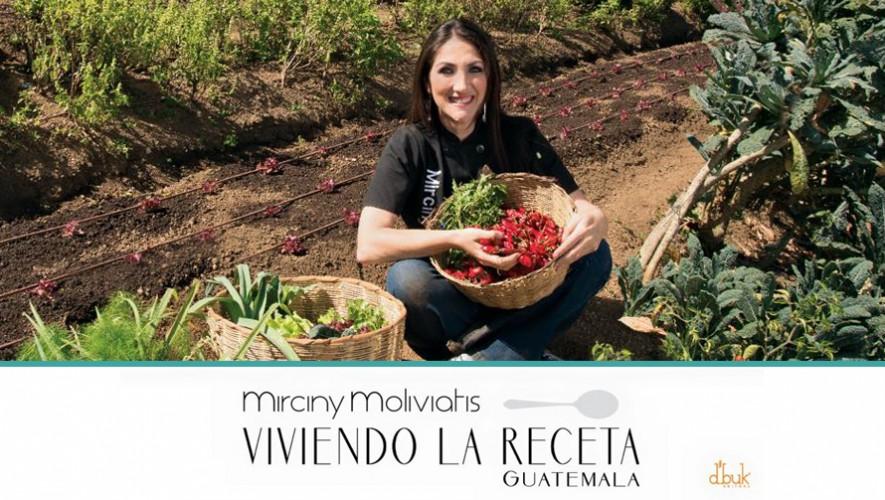 El libro Viviendo la Receta de Mirciny Moliviatis ha sido nominado como uno de los Mejores Libros Gastronómicos de América Latina. (Foto: Facebook Mirciny Moliviatis)