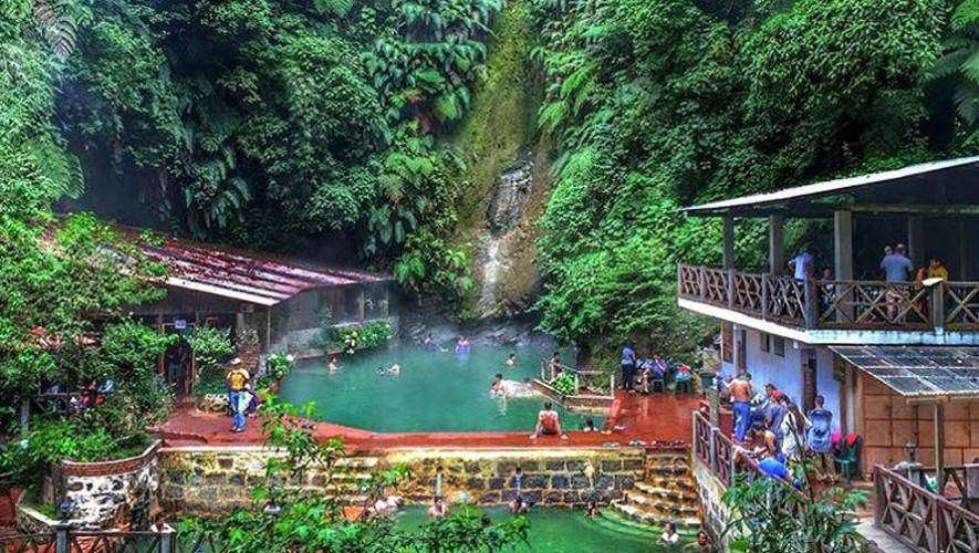 Las Fuentes Georginas están ubicadas en Zunil, Quetzaltenango. (Foto: Fuentes Georginas)