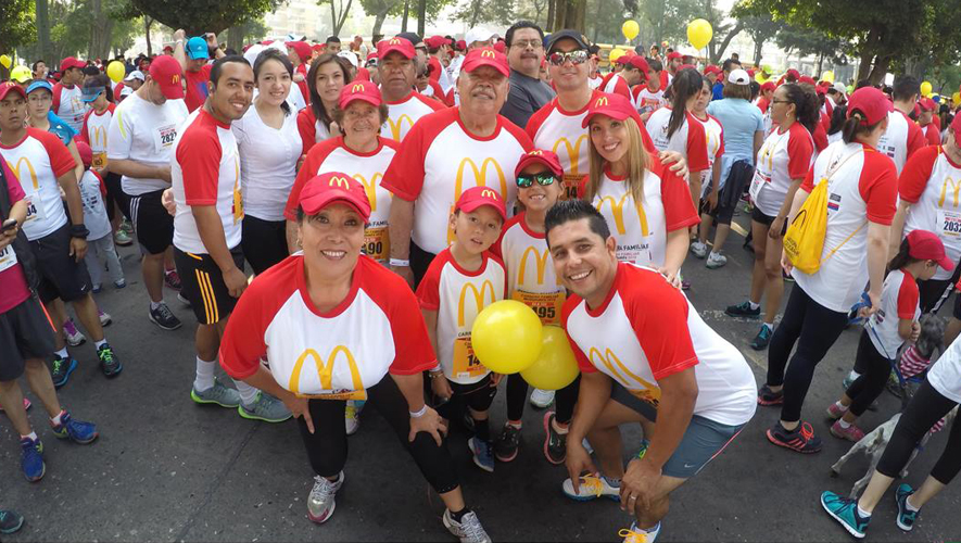 Tercera Carrera Familiar McDonald's | Febrero 2016