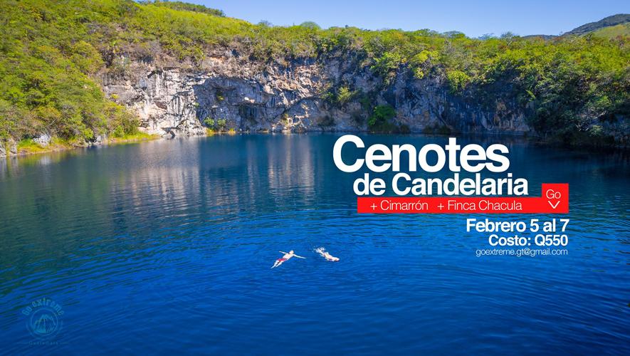 Viaje a Cenotes de Candelaria, organizado por Go Extreme | Febrero 2016