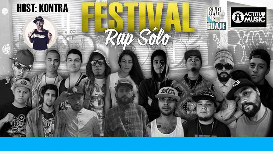 Festival Rap Sólo en Bar Los Lirios | Enero 2016