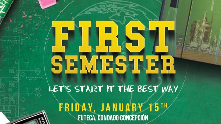 Fiesta First Semester by XL en Futeca Pradera Concepción | Enero 2015