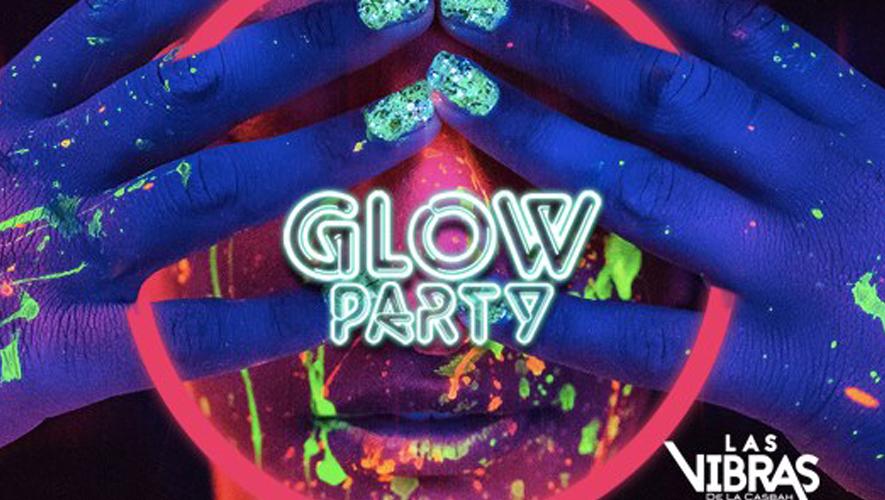 Glow Party en Las Vibras de la Casbah   Enero 2016