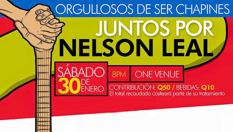 Concierto Juntos por Nelson Leal en One Venue | Enero 2016