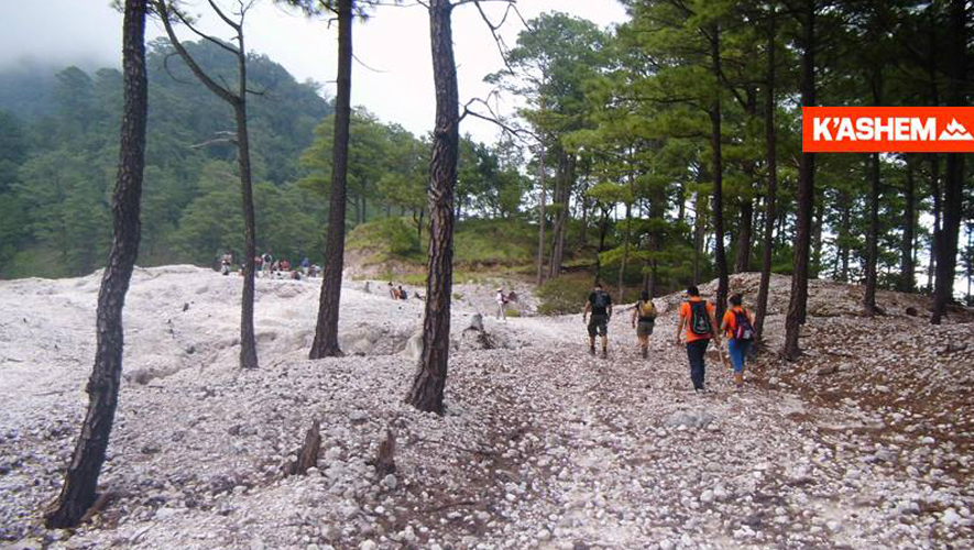 Viaje al volcán Tecuamburro con K'ashem | Febrero 2016