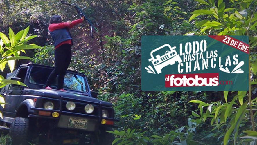 Acampada Lodo hasta las chanclas, organizada por El Fotobus | Enero 2016