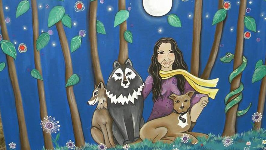 Presentación del libro Manada de lunas de Ema Vilches | Enero 2016