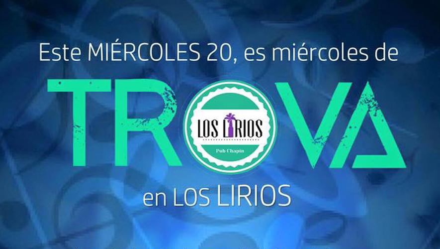 Miércoles de trova en Bar Los Lirios   Enero 2016