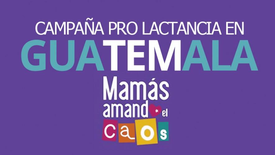 """El grupo """"Mamás Amando el Caos"""" promueve un proyecto pro lactancia en Guatemala. (Foto: Mamás Amando el Caos)"""