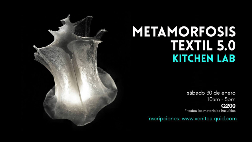 Metamorfosis Textil 5.0: Kitchen Lab   Enero 2016