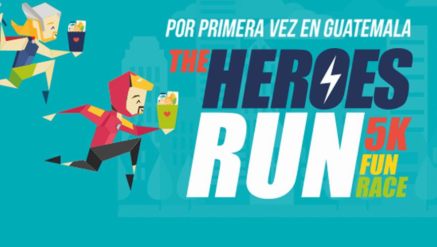 Carrera The Heroes Run 5K en Condado Concepción  Marzo 2016